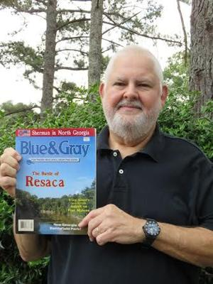 <p>Local historian, Ken Padgett, was recognized in the latest issue of Blue & Gray, a historical publication.</p>