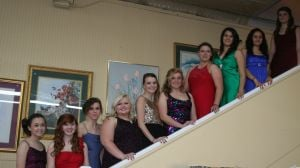 <p><span>Miriam Stephens,  Alexis Robinson,  LeAnn Burchfield, Cayden Litesey, Adrianna Dobbs, Emilee Pilgrim, Samantha Holland, Vivianna Nevarez, Arley Infante, and Kathleen Ondriezek participated in the first ever Our House Prom Fashion Show. (Contributed photo)</span></p>