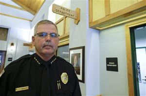 Fruitland Park, Fla. Police Chief Terry Isaacs