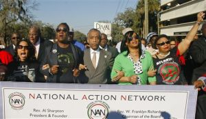 Sharpton leads march over 'stand your ground' law