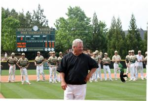BASEBALL: Retiring Coosa head coach Gus Bell honored after losing to Wesleyan
