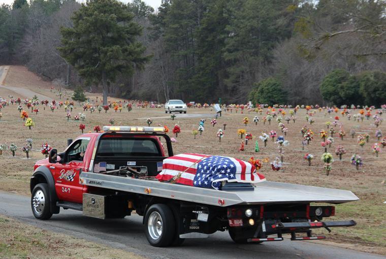 Wrecker drivers honor boatfield northwest georgia news news