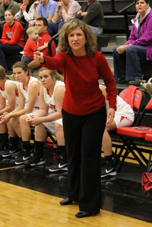 Sonoraville coach Stephanie Caudell