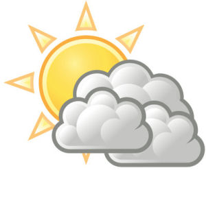 Friday's weather: partly sunny, highs in mid 50s