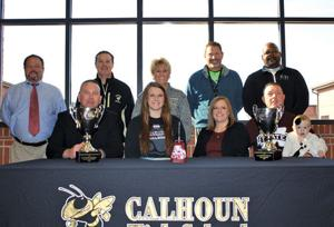 <p>Calhoun's Taylor Kelly signs with Mississippi State (Contributed Photo)</p>