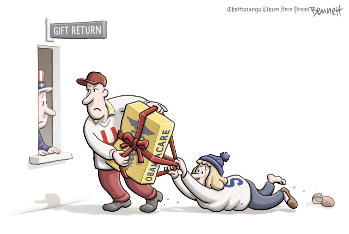 Clay Bennett Cartoon
