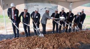 voestalpine has groundbreaking for expansion on same day as ribbon-cutting for phase one