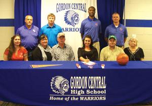 College Signing: Gordon Central's Thomas signs with Georgia Highlands