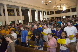Berry College welcomes new students for 2014-15 academic year