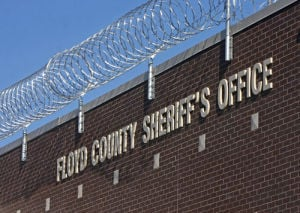 Floyd County Jail reports Oct. 1, 8 p.m. report