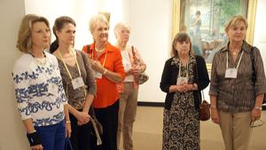 Colonial Dames chapter visits Rome