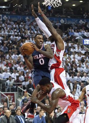 NBA: DeRozan scores 15 points, Raptors beat Hawks