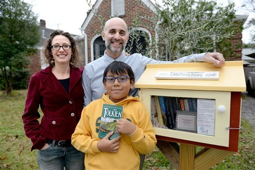 Exchange Little Free Library