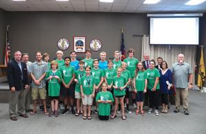 Local Highlights: Blue Barracudas recognized at recent City Council meeting