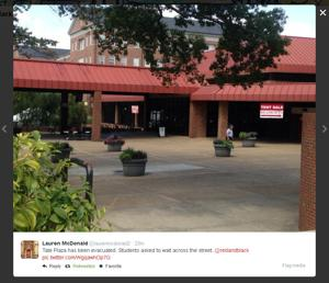 Students evacuated from parts of UGA campus after online threats