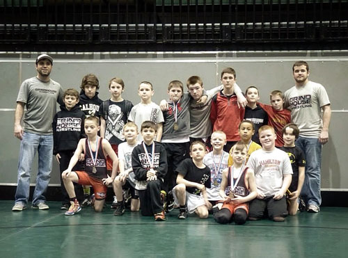 Grindhouse Wrestlers qualify for State