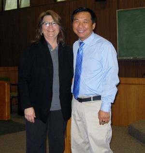 Jennifer Hulsey and Meng Lim