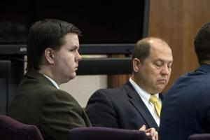 <p>FILE - In this Oct. 3, 2016 file photo, Justin Ross Harris, left, listens to jury selection during his murder trial at the Glynn County Courthouse in Brunswick, Ga. Harris, 34, is charged with murder in the death of his 22-month-old son, Cooper. He's also charged with sending graphic, sexual text messages and photos to a girl for a period of several months when she was 16 and 17. (Stephen B. Morton/Atlanta Journal-Constitution via AP, Pool)</p>