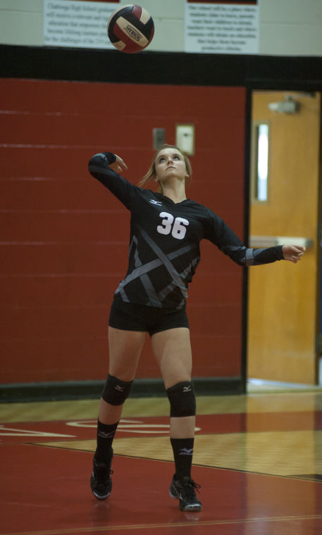 Volleyball Class AA State Playoff