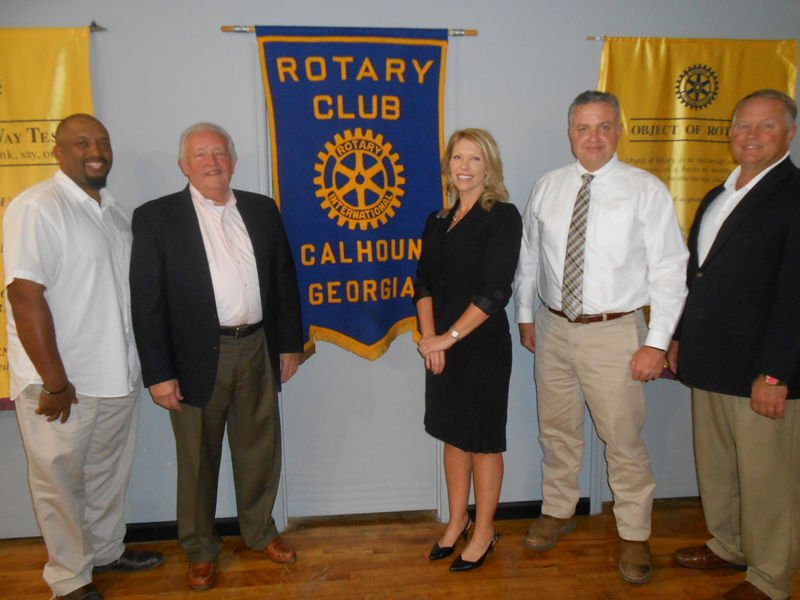 Director of Mountain Top Boys Home visits Rotary Club