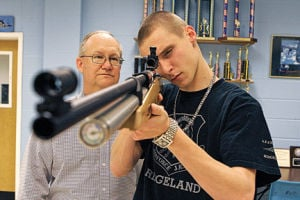 Walker County high school JROTC forms rifle team
