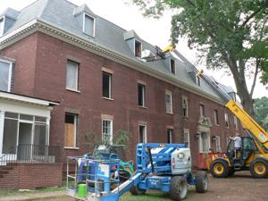 Next phase begins for Fannin Hall as SPLOST project works to keep original details in $2.3 million facelift