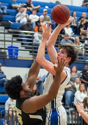 BOYS BASKETBALL: Blue Devils snap losing streak with win over Pepperell