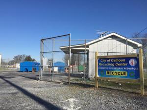 City of Calhoun Recycling Center