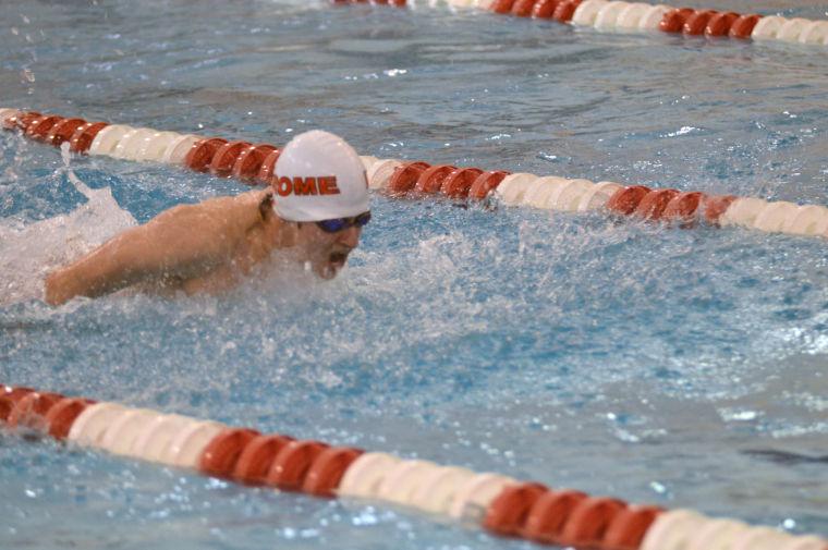 Rome hosts Dalton, Coahulla Creek in swimming 3