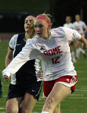 <p>Rome's Alli Gaither is the 2016 Rome News-Tribune Girls' Soccer Player of the Year. (File, Jeremy Stewart/RN-T.com)</p>