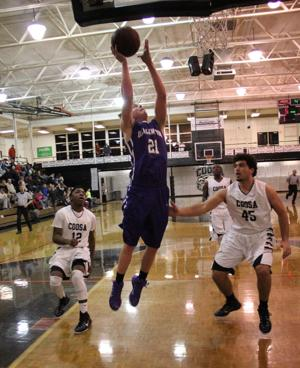 BASKETBALL: Eagles hold on for win against Darlington