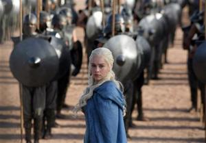 "<p>FILE - This file publicity image released by HBO shows Emilia Clarke as Daenerys Targaryen in a scene from ""Game of Thrones."" HBO plans to offer a stand-alone version of its popular video-streaming service, CEO Richard Plepler said at an investor meeting at parent Time Warner Inc. on Wednesday, Oct. 15, 2014. (AP Photo/HBO, Keith Bernstein, File)</p>"