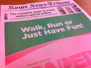 Why the paper is pink today