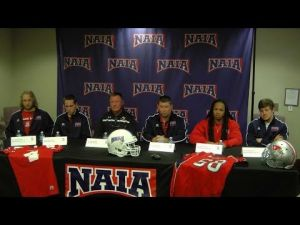 Grand View, Cumberlands coaches and players answer questions ahead of NAIA title game