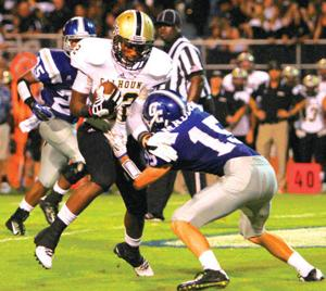FOOTBALL: Calhoun hosts struggling Mountaineers in region contest