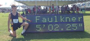 <p>Dylan Faulkner at AAU Jr. Olympics (Contributed Photo)</p>