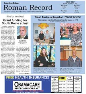 In Monday's Roman Record: Real estate market strong at year's end