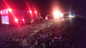 Authorities: No identification yet on bicyclist killed on U.S. 411 Wednesday night