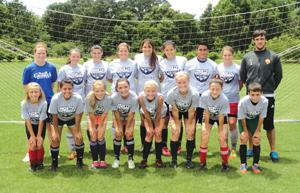Sonoraville soccer camp at North Georgia College and State University