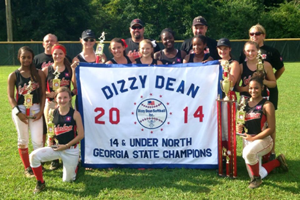 Cedartown Dizzy Dean 14-and-under state champions