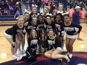 Pepperell cheerleading
