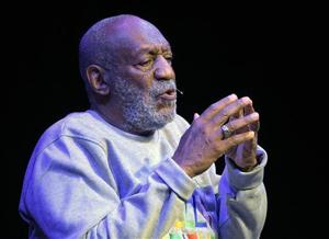 For 1 night on stage, embattled Bill Cosby his old self