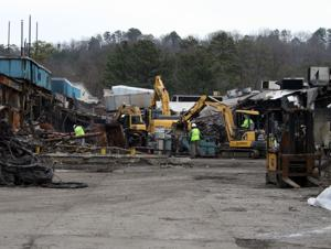 Demolition underway at Bekaert plant on Darlington Drive