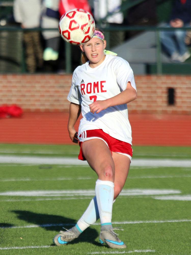 Rome High girls vs. Carrollton