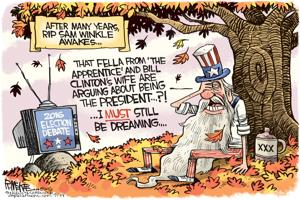 <p>Rick McKee, The Augusta Chronicle</p>