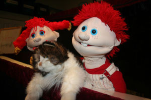Puppets a hit at Rome-Floyd County Library's story time
