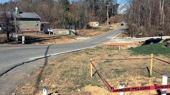 Chapman Road in Ringgold to close for storm water maintenance Feb. 14