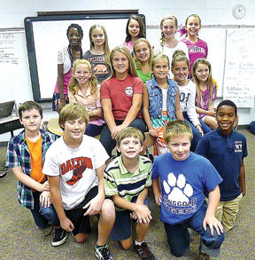 <p><span><strong>Front from left</strong>: Ian Hawkins, Chandler Burns, Jaxon Yarger, Gunter Hullander and Jevon Coney. Middle: Dixie Edmondson, Baileigh Pitts, Autumn Bowers, Gracie Murray, Addi Broome and Caroline Roach. Back: Zandy Burton, Selah McWhorter, Makayla Newcom, Elizabeth Kennedy and Ava Raby. Not Pictured, Emman McNeese.</span></p>