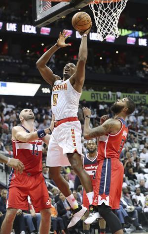 ATLANTA HAWKS: Hawks top Wizards in opener