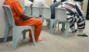 Black and white is the new orange at the Saginaw County Jail